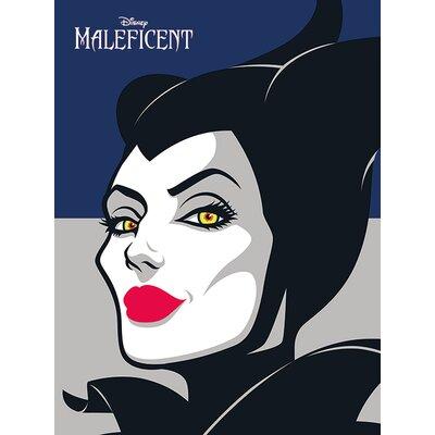 Art Group Maleficent - Face Vintage Advertisement Canvas Wall Art