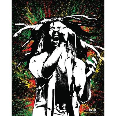 Art Group Bob Marley - Paint Canvas Wall Art