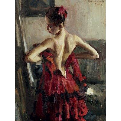 Art Group Vasily Bratanyuk - Olga Pavlova I Canvas Wall Art