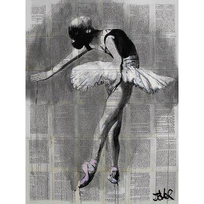 Art Group Loui Jover - Her Finest Moment Canvas Wall Art