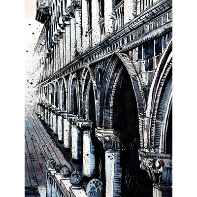 Art Group LX - Jack The Flipper - Venice II Canvas Wall Art