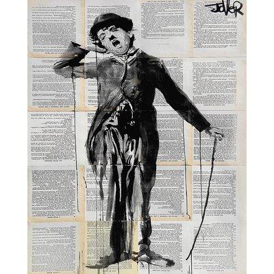 Art Group Loui Jover - The Little Tramp Canvas Wall Art
