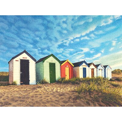Art Group Margaret Heath - Southwold Sunrise Canvas Wall Art