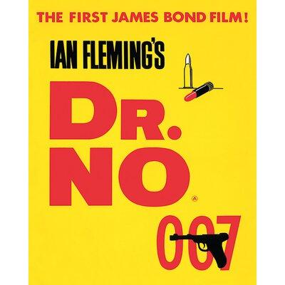 Art Group James Bond - Dr. No Vintage Advertisement Canvas Wall Art