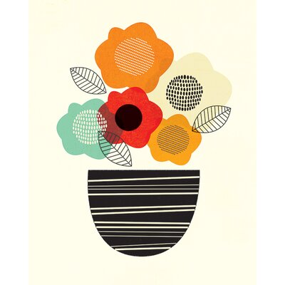 Art Group Nicola Evans - Scandi Flowers II Canvas Wall Art