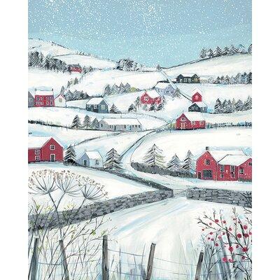 Art Group Janet Bell - Winter Hill Canvas Wall Art