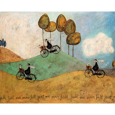 Art Group Sam Toft - Just One More Hill by Canvas Wall Art