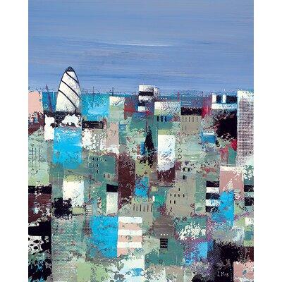 Art Group Lee Mccarthy - London Heights Canvas Wall Art