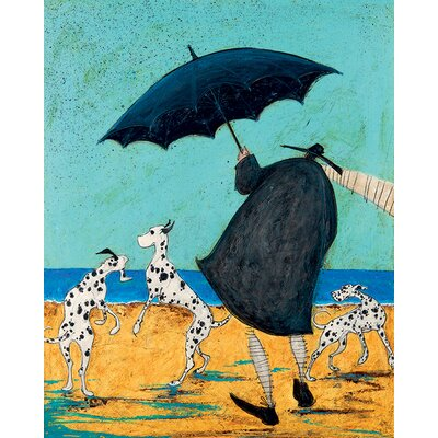 Art Group Sam Toft - on Jack's Beach Canvas Wall Art