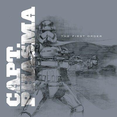 Art Group Star Wars Episode VII - Captain Phasma Vintage Advertisement Canvas Wall Art