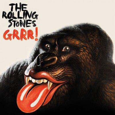 Art Group Rolling Stones – Grrr Canvas Wall Art