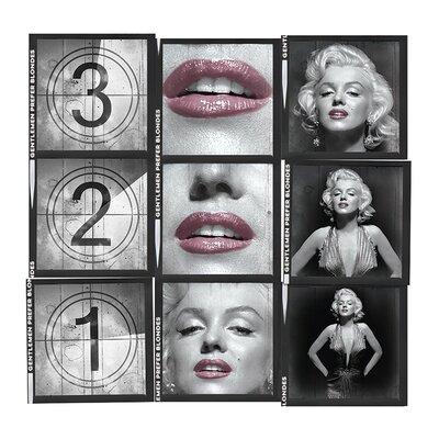 Art Group Marilyn Monroe - 321 Memorabilia on Canvas
