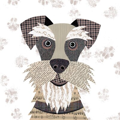 Art Group Simon Hart - Schnauzer Canvas Wall Art