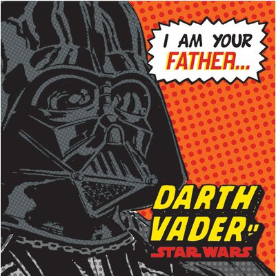 Art Group Star Wars - I Am Your Father Vintage Advertisement Canvas Wall Art
