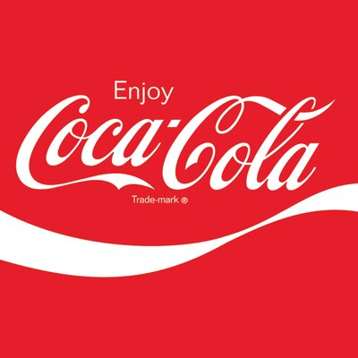 Art Group Coca-Cola - Logo Typography Canvas Wall Art