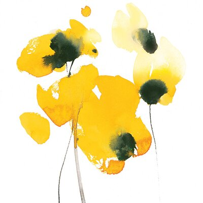 Art Group David Ross - Papaver Nudicaule Canvas Wall Art