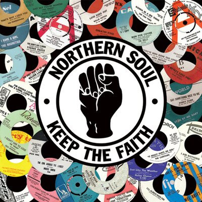 Art Group Northern Soul Canvas Wall Art