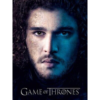 Art Group Game of Thrones Season 3 - Jon Vintage Advertisement Canvas Wall Art