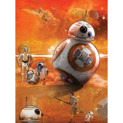Art Group Star Wars Episode VII - BB-8 Art Canvas Wall Art