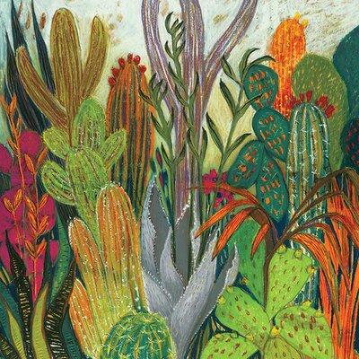 Art Group Shyama Ruffell - The Cactus Canvas Wall Art