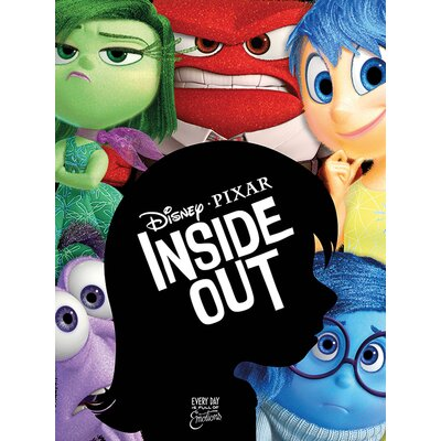 Art Group Inside Out - Characters Vintage Advertisement Canvas Wall Art