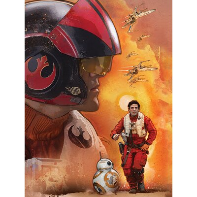 Art Group Star Wars Episode VII - Poe Dameron Canvas Wall Art