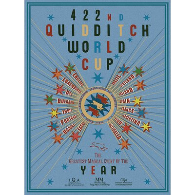 Art Group Harry Potter - Quidditch World Cup Vintage Advertisement Canvas Wall Art