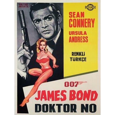 Art Group James Bond - Doctor NoVintage Advertisement Canvas Wall Art