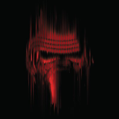 Art Group Star Wars Episode VII - Kylo Ren Lines Canvas Wall Art