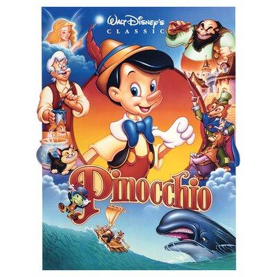 Art Group Pinocchio - Cast Canvas Wall Art