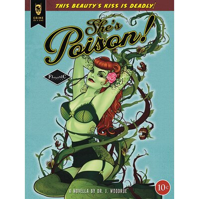 Art Group Poison Ivy - She's Poison Canvas Wall Art