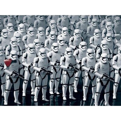 Art Group Star Wars Episode VII - Stormtrooper Army Canvas Wall Art
