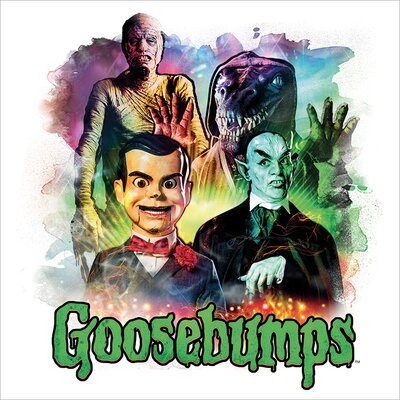 Art Group Goosebumps - Characters Vintage Advertisement Canvas Wall Art