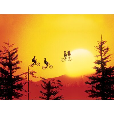 Art Group E.T - Sunset Canvas Wall Art
