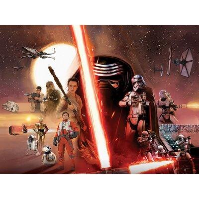 Art Group Star Wars Episode VII - Galaxy Canvas Wall Art