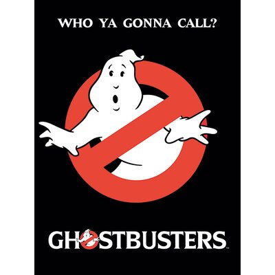 Art Group Ghostbusters - Who You Gonna Call? Vintage Advertisement Canvas Wall Art