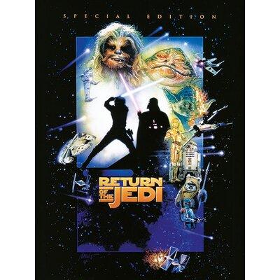 Art Group Star Wars Episode VI - Return of the Jedi Vintage Advertisement Canvas Wall Art