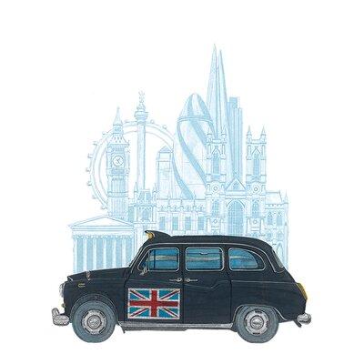 Art Group Barry Goodman - London Taxi Canvas Wall Art