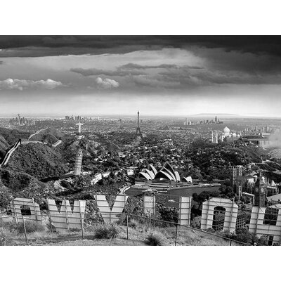Art Group One Too Many Drinks - Thomas Barbey Canvas Wall Art