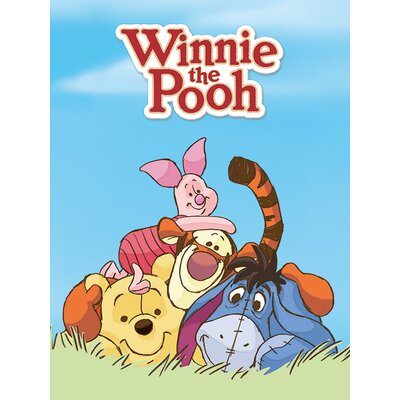 Art Group Winnie the Pooh Characters Canvas Wall Art