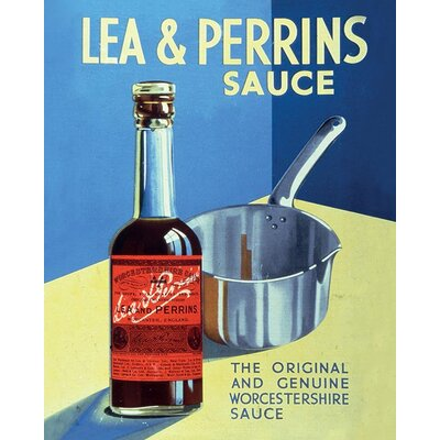 Art Group Lea and Perrins - The Original Worcester Sauce Vintage Advertisement Canvas Wall Art