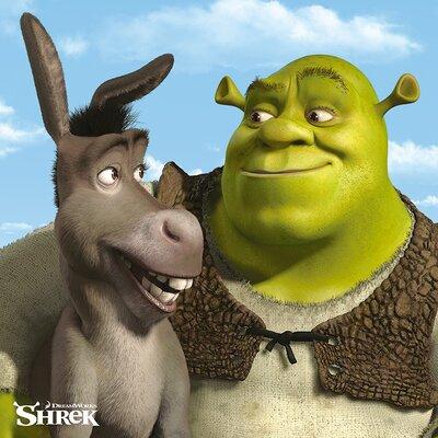 Art Group Shrek - Shrek and Donkey Canvas Wall Art
