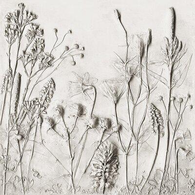 Art Group Rachel Dein - Daffodil Hyacinth Lisiantus and Veronica Canvas Wall Art