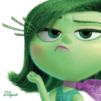 Art Group Inside Out - Disgust Vintage Advertisement Canvas Wall Art
