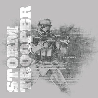 Art Group Star Wars Episode VII - Stormtrooper Vintage Advertisement Canvas Wall Art