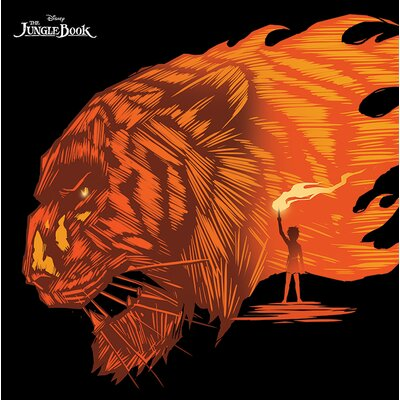Art Group The Jungle Book - Shere Khan Vintage Advertisement Canvas Wall Art