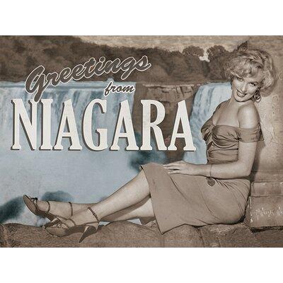 Art Group Marilyn Monroe - Niagara Canvas Wall Art