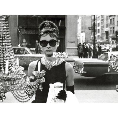 Art Group Audrey Hepburn - Window Canvas Wall Art