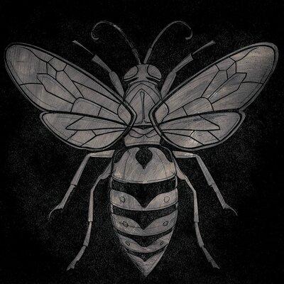 Art Group Barry Goodman - Wasp Canvas Wall Art