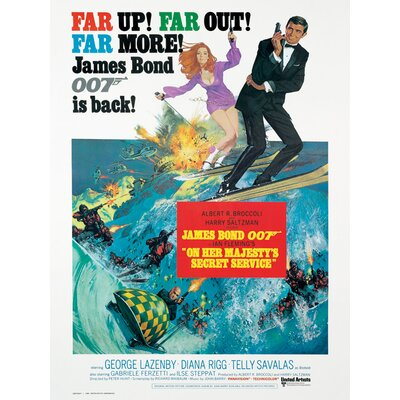 Art Group James Bond - On Her Majesty's Secret Serv Canvas Wall Art